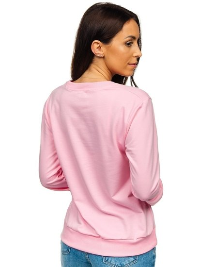 Růžová dámská mikina Bolf WB11002