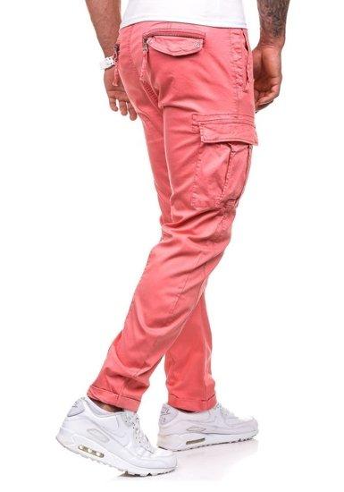 Růžové pánské kapsáče Bolf 8380