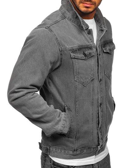 Šedá pánská džínová bunda Bolf 2-3