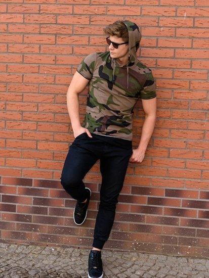 Stylizace č. 236 - tričko, baggy kalhoty, obuv