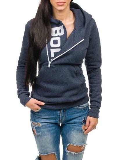 Tmavě modrá dámská mikina Bolf 45S