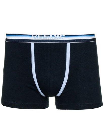 Tmavě modré pánské boxerky Bolf B050