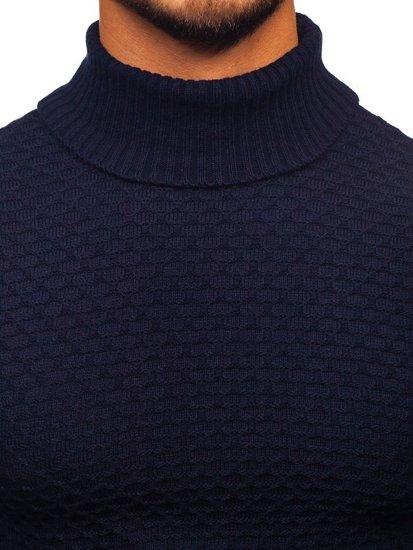Tmavě modrý pánský rolák Bolf 322