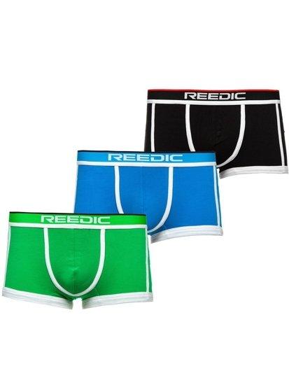 Vícebarevné pánské boxerky-2 Bolf G514 3 PACK