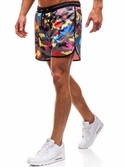 Vícebarevné pánské koupací šortky Bolf 0732F