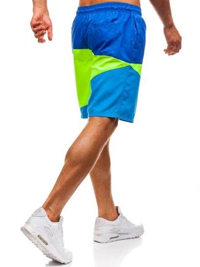 Vícebarevné pánské koupací šortky Bolf 268D
