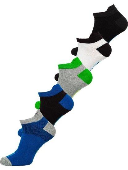 Vícebarevné pánské ponožky Bolf X10052-5P 5 PACK