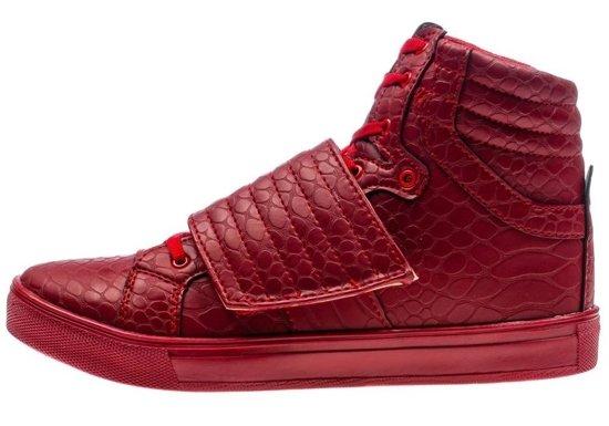 Vínová pánská obuv Bolf 3031
