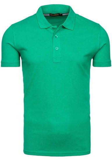 Zelená pánská polokošile Bolf 6233