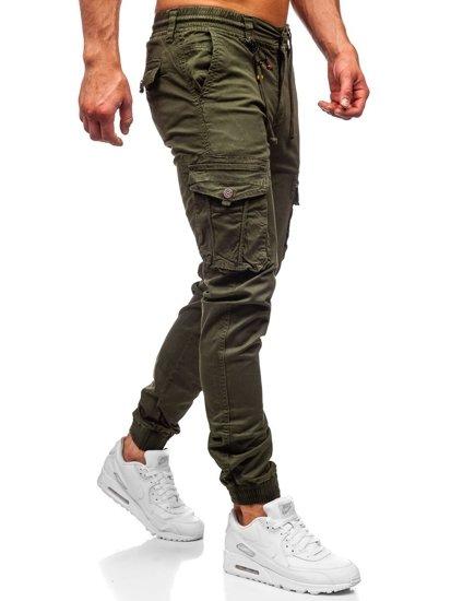 Zelené pánské jogger kapsáče Bolf CT6703