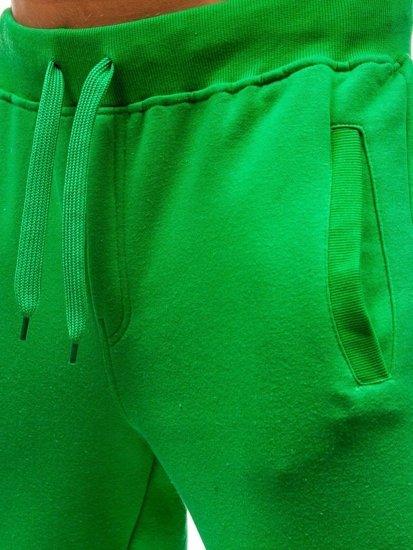 Zelené pánské tepláky Bolf AK70A