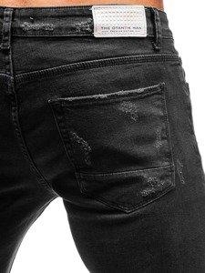 Antracitové pánské džíny Bolf 1018