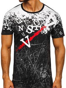 Bílé pánské tričko s potiskem Bolf JS10650