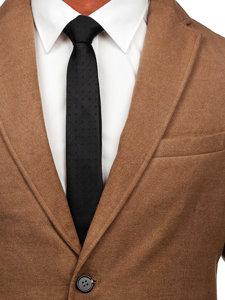 Camelový pánský zimní kabát Bolf 1047