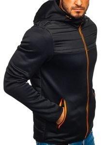 Černá pánská sportovní přechodová bunda Bolf KS1915