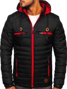 Černá pánská sportovní zimní bunda Bolf 50A94