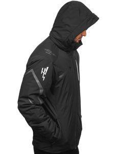 Černá pánská zimní lyžářská bunda Bolf 5941