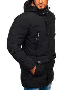 Černá pánská zimní parka Bolf 1097