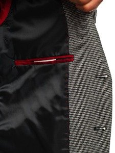 Černé pánské ležérní sako Bolf 0158B