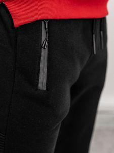 Černé pánské tepláky Bolf JX8975