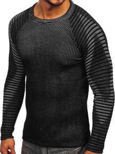 Černý pánský svetr Bolf 0002