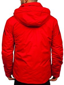 Červená pánská zimní lyžářská bunda Bolf 5941