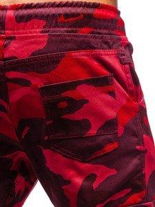 Červené pánské jogger kapsáče Bolf 0404