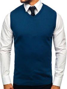 Indigo pánský svetr bez rukávů Bolf 2500