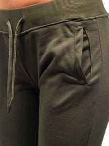 Khaki dámské tepláky Bolf WB11003-A