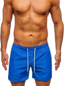 Kobaltové pánské plavecké šortky Bolf ST002