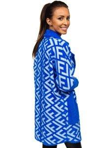 Modrý dámský kabát Bolf 20682