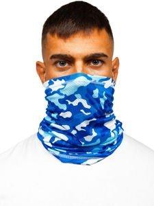 Modrý pánský maskáčový šátek Bolf YW0504M