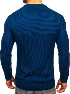 Modrý pánský svetr Bolf 319