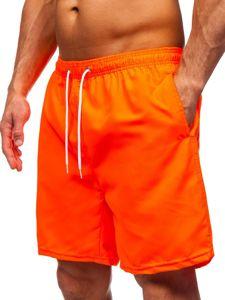 Oranžové pánské plavecké šortky Bolf ST003