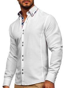 Pánská košile BOLF 4704 bílá