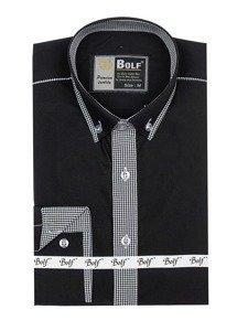 Pánská košile BOLF 5800 černá