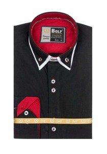 Pánská košile BOLF 5818 černá