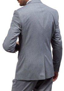 2bb5ac2518 Pánský šedý oblek Bolf 5005