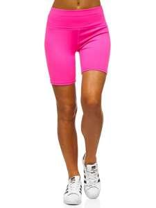 Růžovo-neonové dámské kraťasy Bolf 54548