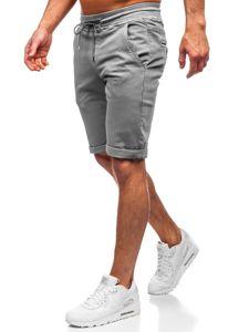 Šedé pánské plavecké šortky Bolf KG3720