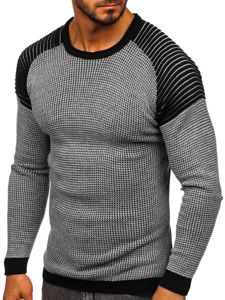 Šedý pánský svetr Bolf 0004