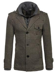 Šedý pánský zimní kabát Bolf 88801