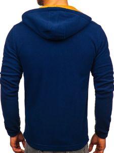 Tmavě modrá pánská přechodová bunda Bolf YL010