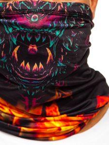Tmavě modrý pánský šátek Bolf YW0511M