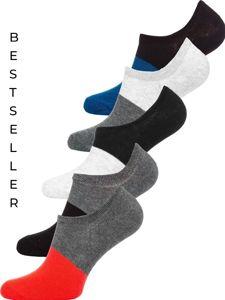 Vícebarevné pánské ponožky Bolf X10168-5P 5 PACK