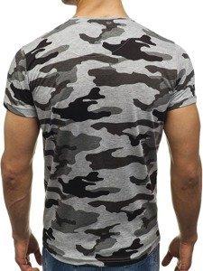 Vícebarevné pánské tričko s potiskem Bolf 2101B