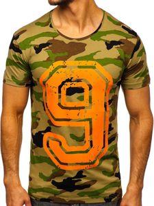 Vícebarevné pánské tričko s potiskem Bolf 2101C