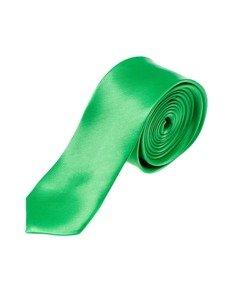 Zelená pánská elegantní kravata Bolf K001