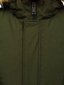 Zelená pánská zimní bunda Bolf 1770