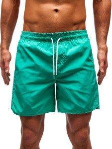 Zelené pánské koupací šortky Bolf 204